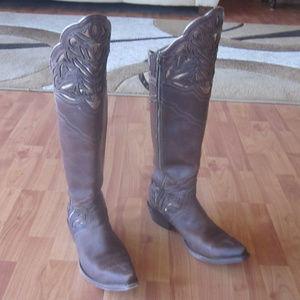 Ariat Chaparral Tall Cowboy Boots 8.5b
